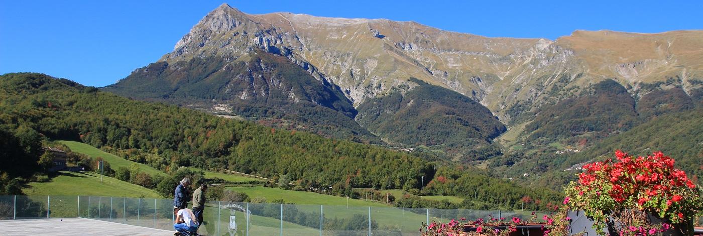 Lavanda dei Monti Sibillini - Montegallo e il Terremoto del Centro Italia del 2016